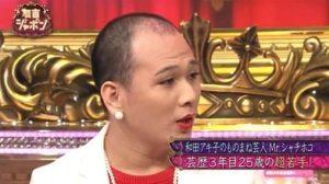 708b1968 s e1545951477146 - Mrシャチホコは和田アキ子のものまねでブレイク!ハゲていた!