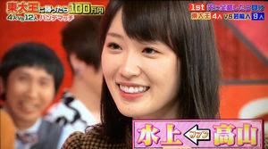 水上颯,彼女 小林彩子,勉強法,乃木坂,リポビタンd