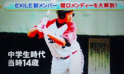 関口メンディーは野球経験者!実はハーフ!筋肉がすごい!